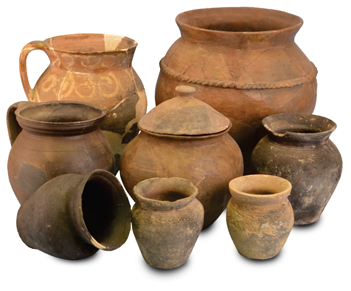kuhinjska keramika XV i XVI vek